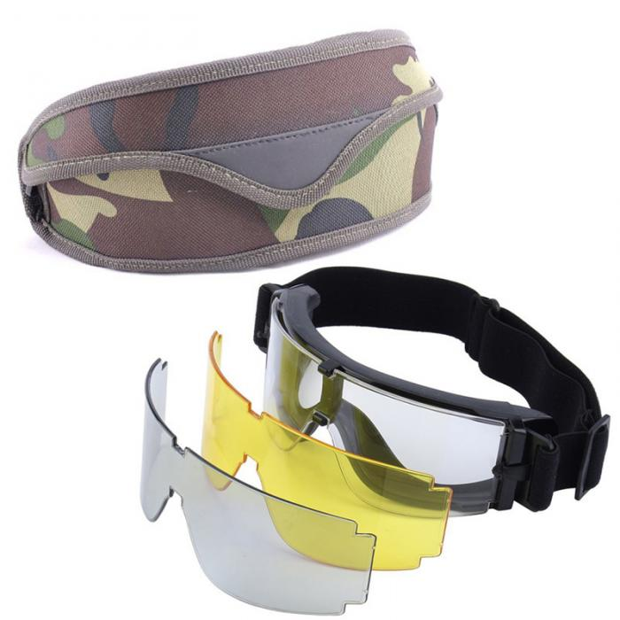 X800 Style Tactical Shooting Goggles
