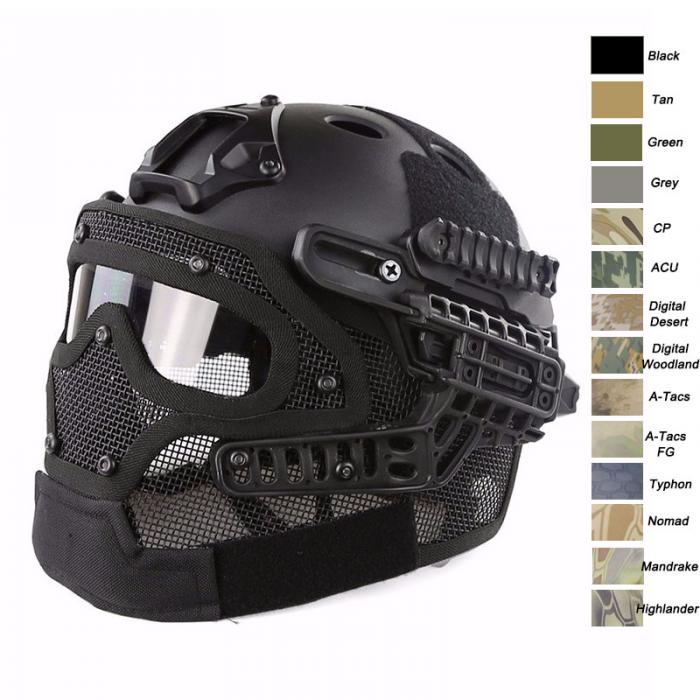 OPS-CORE Fast Tactical Helmet with Mask