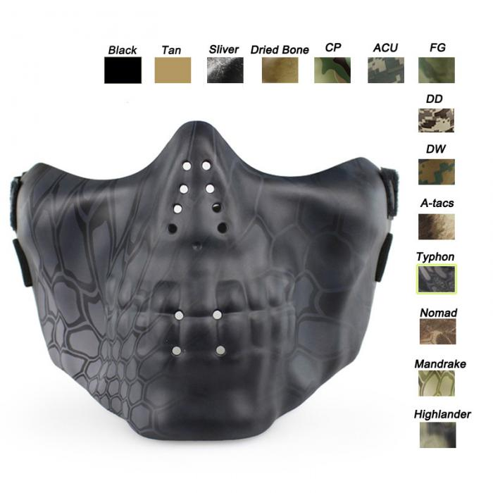 Camouflage Tactical Skull Mask