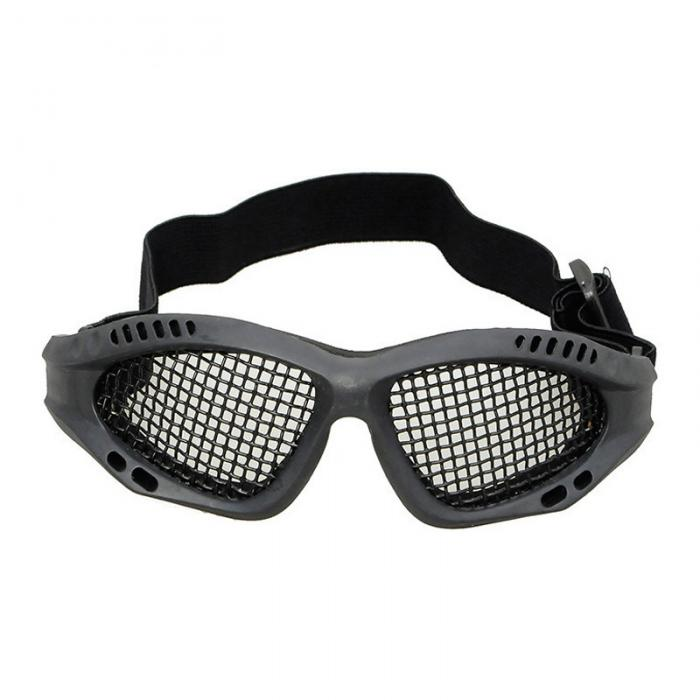 Metal Steel Wire Mesh Goggles