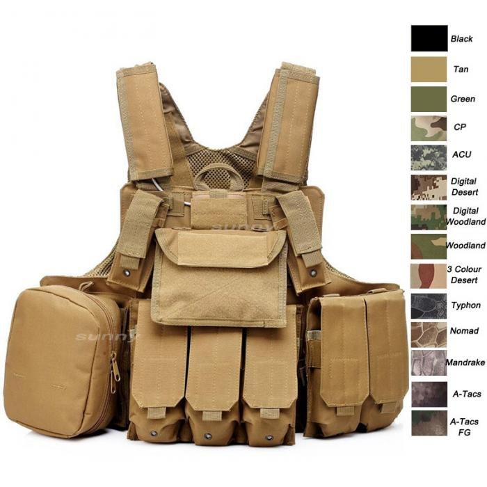 Plate Carrier Tactical Vest