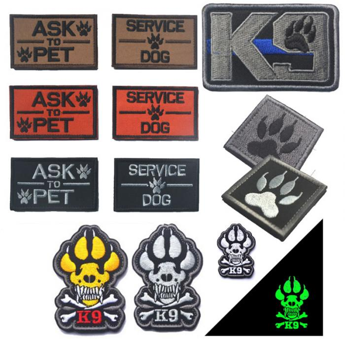Tactical K9 Patch