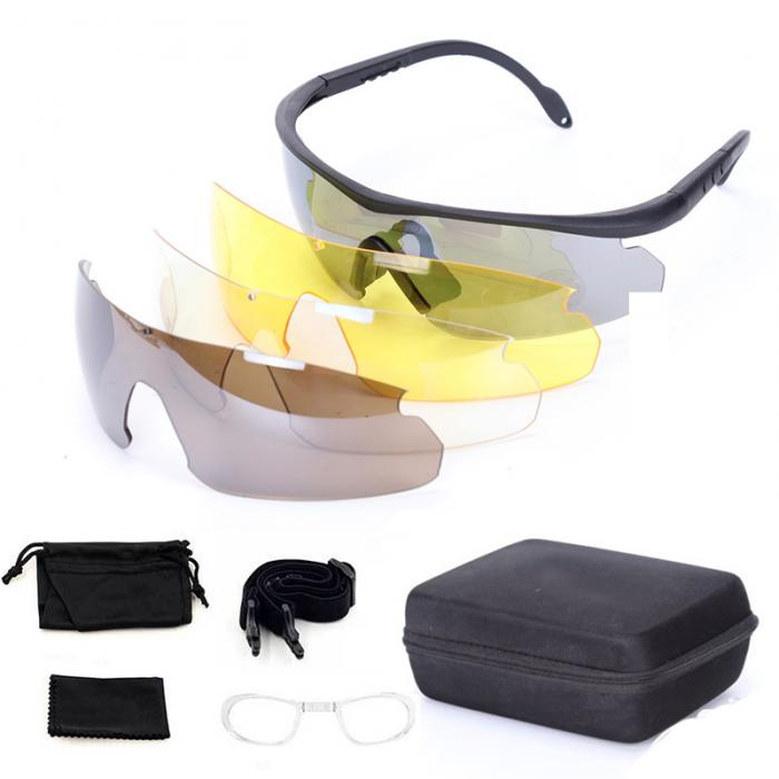 C2 Style Tactical Shooting Glasses